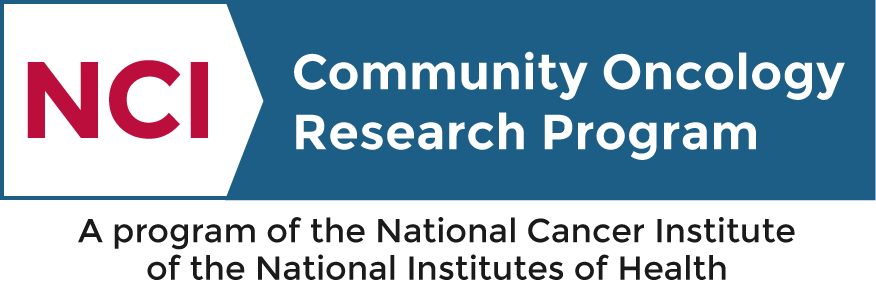 Logo of the NCI -  National Cancer Institute, Community Oncology Research Program