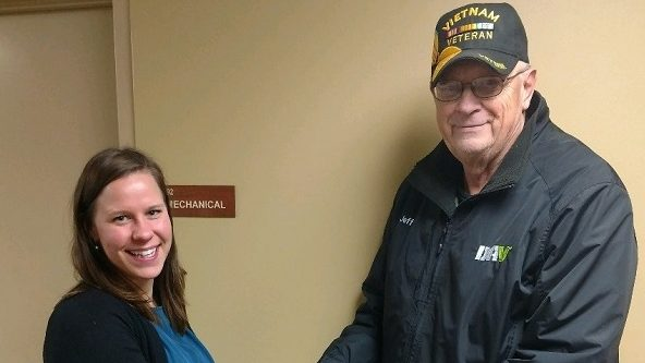 CHI St. Joseph's Health Receives Grant from Local DAV Chapter